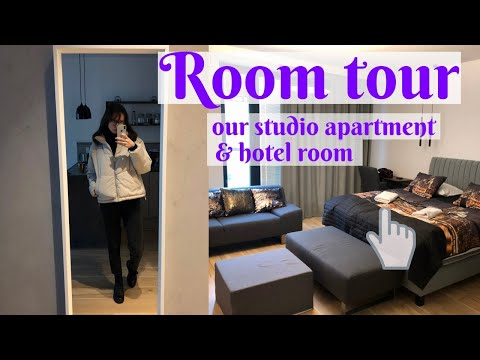 ROOM TOUR / our apartment in Warsaw & hotel room / WARSAW VLOG PART II