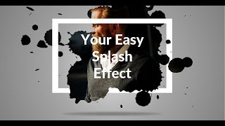 How to make paint splash effect in PowerPoint! PPT tricks.