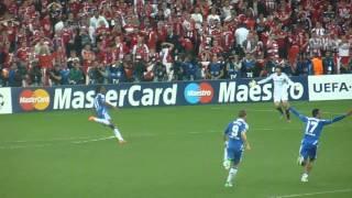 Chelsea fans reaction vs Bayern Munich final