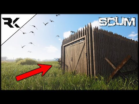 SCUM - BASE BUILDING IS HERE! Look At What YOU Can Build!!