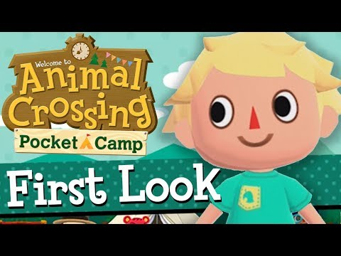 I'M NEW TO THE FRANCHISE | Animal Crossing Pocket Camp