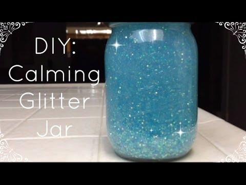 DIY Calming Glitter Jar   MsXialin  YouTube