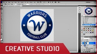 Photoshop - How to create a sport logo