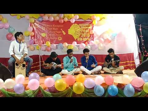 Parody Song Bnagla || AET night 2k18. Bangladesh Agricultural University