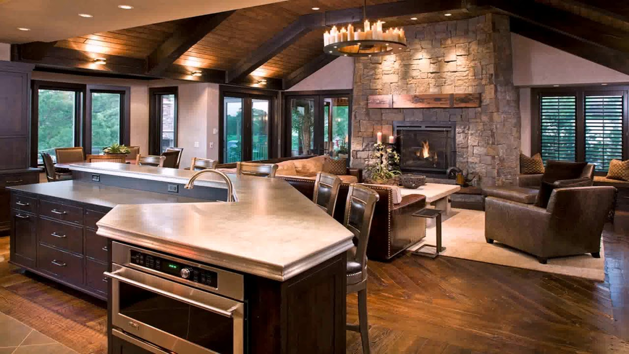 Design Ideas Kitchen Family Room Combinations YouTube