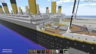 Minecraft, RMS Titanic, Olympic & Britannic