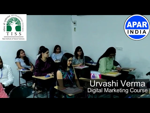 Urvashi Verma - MBA Passout | Digital Marketing Course @ TATA Institute of Social Sciences (TISS)