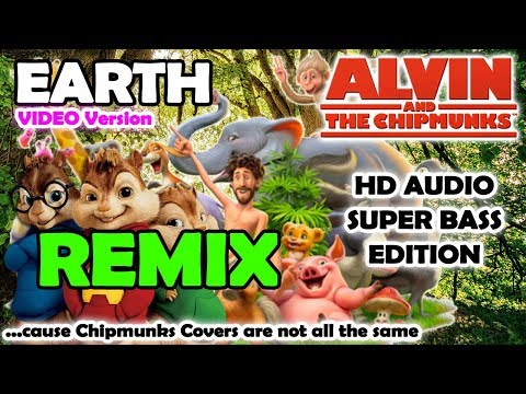Earth REMIX (ORIGINAL Alvin And Chipmunks HD REMIX) - Lil Dicky - NO ROBOTIC VOICES