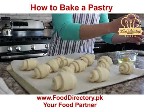 How to Bake a Pastry? Short Video Clip- Food Directory Pakistan