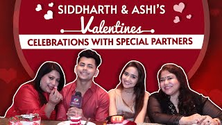 Siddharth Nigam And Ashi Singh's Valentines Celebrations With Special Partners