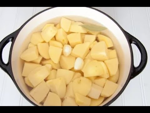 Как убрать из картошки крахмал