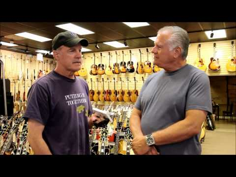Stephen Collins at Norman's Rare Guitars