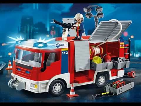 pr sentation collection playmobil 2014 th me pompiers youtube. Black Bedroom Furniture Sets. Home Design Ideas