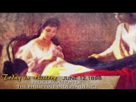 Philippine Independence Proclaimed On June 12, 1898 | Today In History