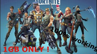 Download Fortnite highly compressed for PC (1GB X9 ) Parts