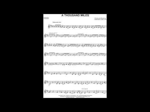 Vanessa Carlton - A Thousand Miles (short Cover)