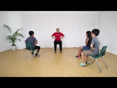 3 Minute Chair Yoga Class for Kids | Ages 9-10