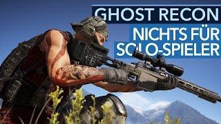 Ghost Recon: Wildlands - Singleplayer-Fazit: Nichts für Solo-Spieler?