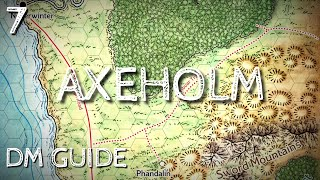 Dragon Of Icespire Peak DM Guide   Axeholm Quest