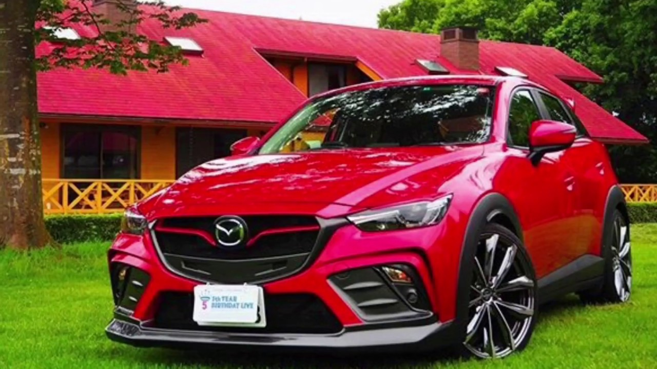 Mazda Cx3 Custom And Specifications Youtube