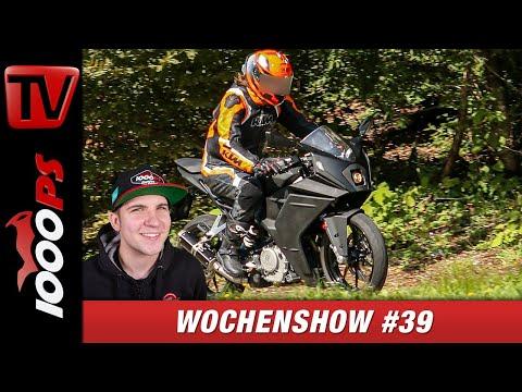 KTM RC390 2020 Erlkönig, Maximilian Kofler in der Moto3 und vieles Mehr - 1000PS Wochenshow #39