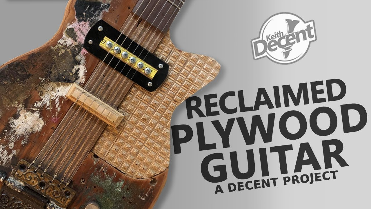 diy electric guitar from