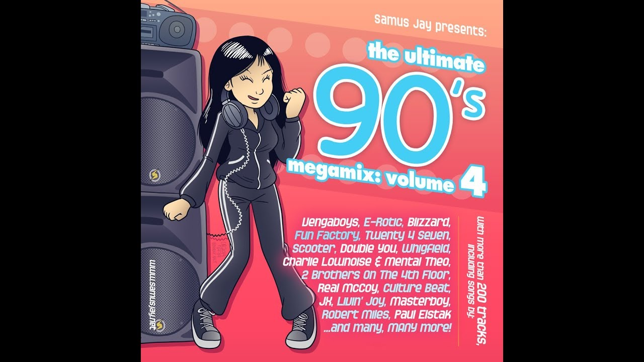 Samus Jay Presents - The Ultimate 90s Megamix Volume 4 - Over 200 Songs!