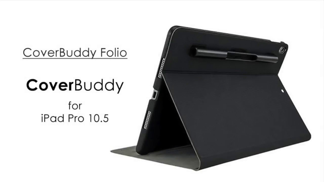 half off e4da2 4a463 Switcheasy Coverbuddy Folio for Apple iPad Pro 10.5 2017 2018 (Black)