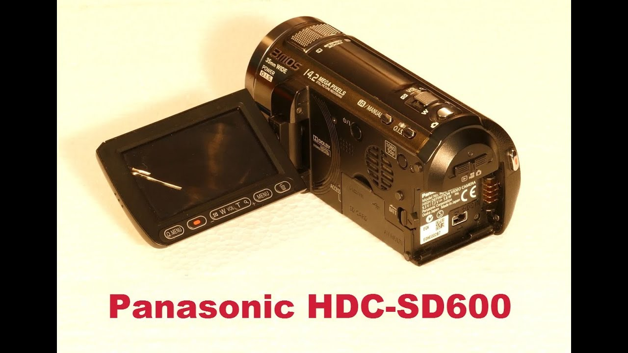 Panasonic hdc-sd600 review | trusted reviews.