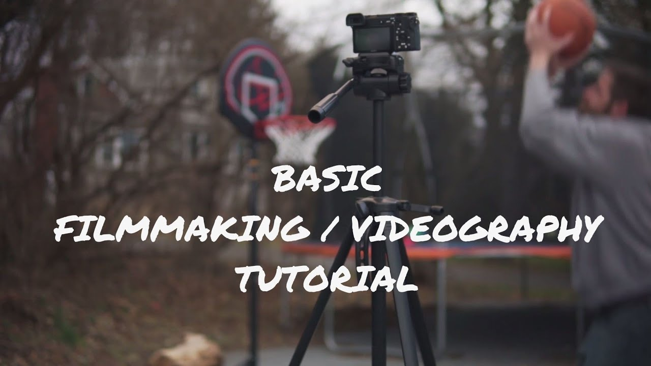 BASIC Filmmaking and Videography Tutorial - YouTube