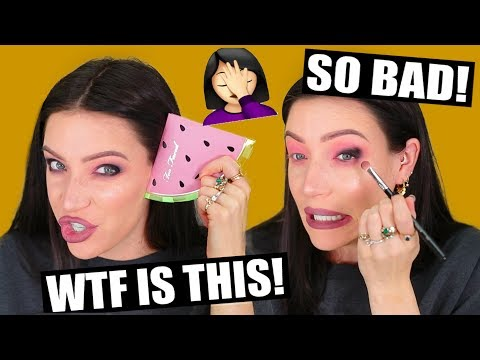 TRYING NEW MAKEUP - BRUTALLY HONEST FIRST IMPRESSIONS! thumbnail