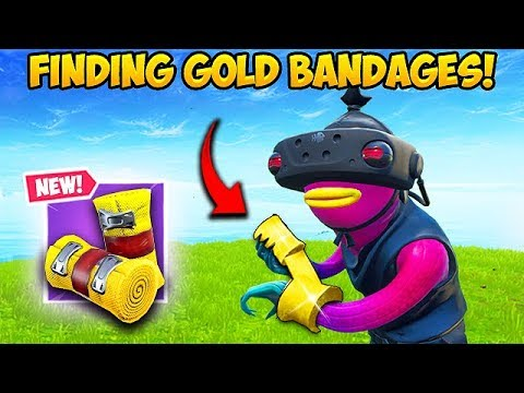 FINDING GOLD BANDAGES! - Fortnite Funny Fails and WTF Moments! #591