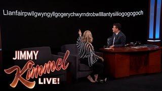 Naomi Watts' Unpronounceable Town Name
