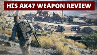 ghost recon wildlands his ak47 weapon review