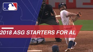 2018 American League All-Star starters
