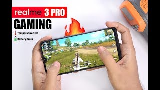 Realme 3 Pro Gaming Review - PUBG, Fortnite, Asphalt 9, Heating and Battery Usage 🔥