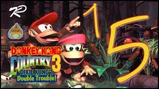 Let's Play Together Donkey Kong Country 3 [103%] feat.kphomelp Part 15: Schüsse, Schnee und Pinguine