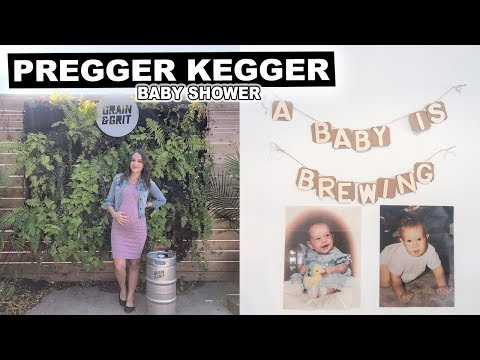 Baby Shower Game Ideas + Why We Hosted A Pregger Kegger | Jenelle Nicole