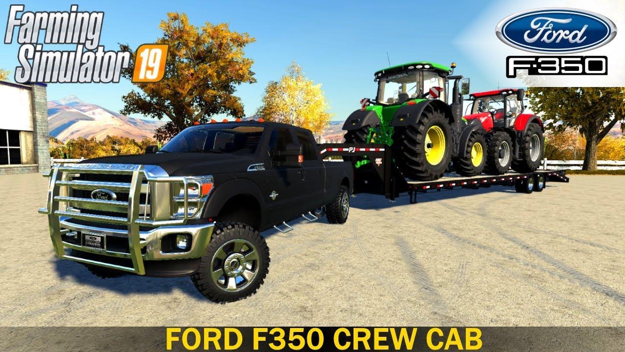 farming simulator 19 ford f350 crew cab truck youtube. Black Bedroom Furniture Sets. Home Design Ideas