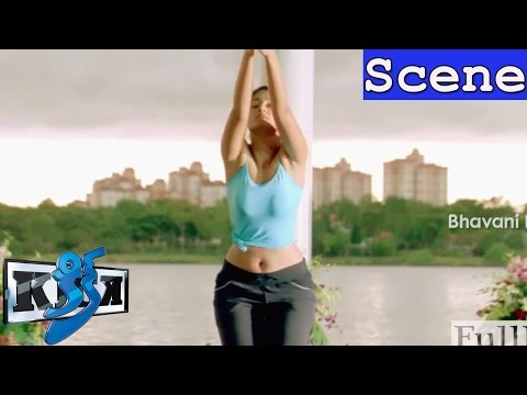Ileana D'cruz Yoga Scene - Glamorous Intro Scene - Kick Movie Scenes
