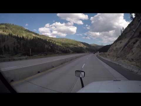 Перевал в Reno. Дальнобой по Неваде.