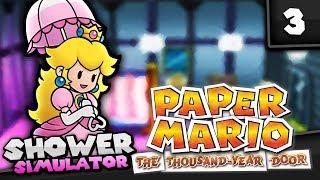 Paper Mario: The Thousand Year Door - Part 3 (Princess Peach Shower Simulator)
