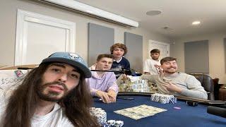 I Beat MrBeast iฑ a $100,000 Poker Match