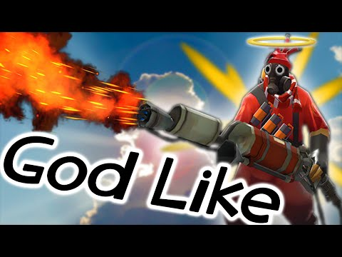 TF2: Pyro GOD-Like 24 Killstreak (FaceCam Commentary)
