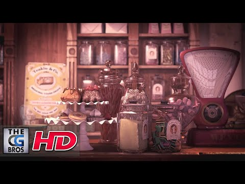 "CGI 3D Breakdown : ""Making of Mr. Teakin's Little Confectionery Shop"" by Jessica Sommerville"