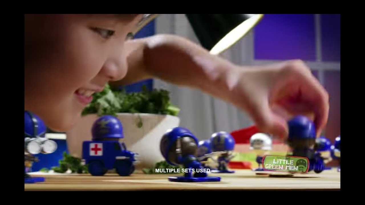 Andrew Kwong andrew kwong on awesome little green men series 2 recruits 30 commercial 1