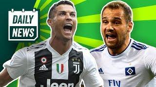 Ronaldo trifft für Juventus & Douglas Costa spuckt! Lasogga -Hattrick! Geht Götze? Freiwild -Bayern?