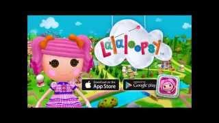 Banana plays the Lalaloopsy 3D Land App - Review & Demo