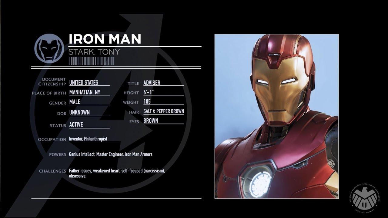Marvel's Avengers | Iron Man Character Spotlight - YouTube