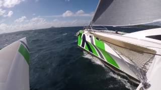 Thailand -- Sailing a Rapido Catamaran